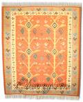 Чипровски килим: Дървета с рескави кола