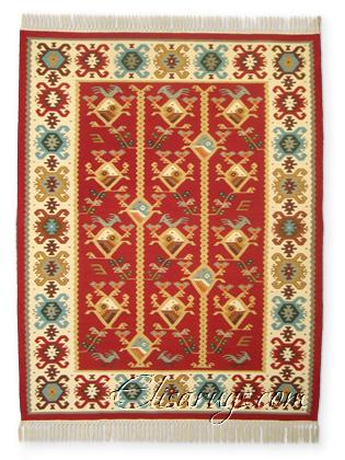 Handmade Kilim Rug: