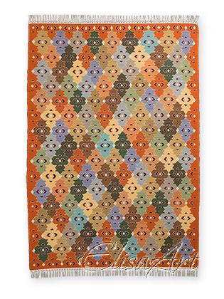 Handmade Kilim Rug: Gipsies