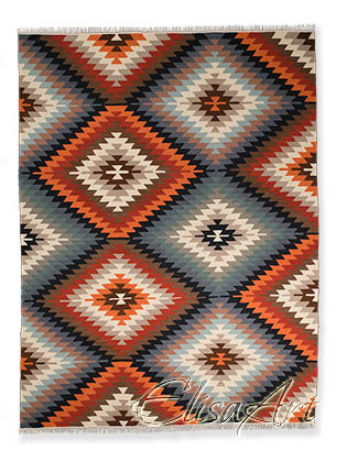 Handmade Kilim Rug: Bacam