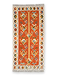 Handmade Kilim Rug:  Birds
