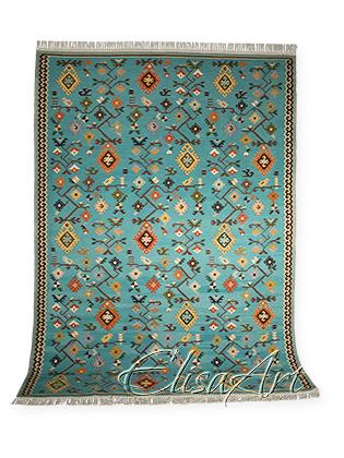 Handmade Kilim Rug: Autumn Vine
